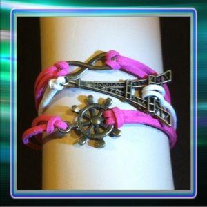 Jewelry - Eiffel Tower Infinity Bracelet